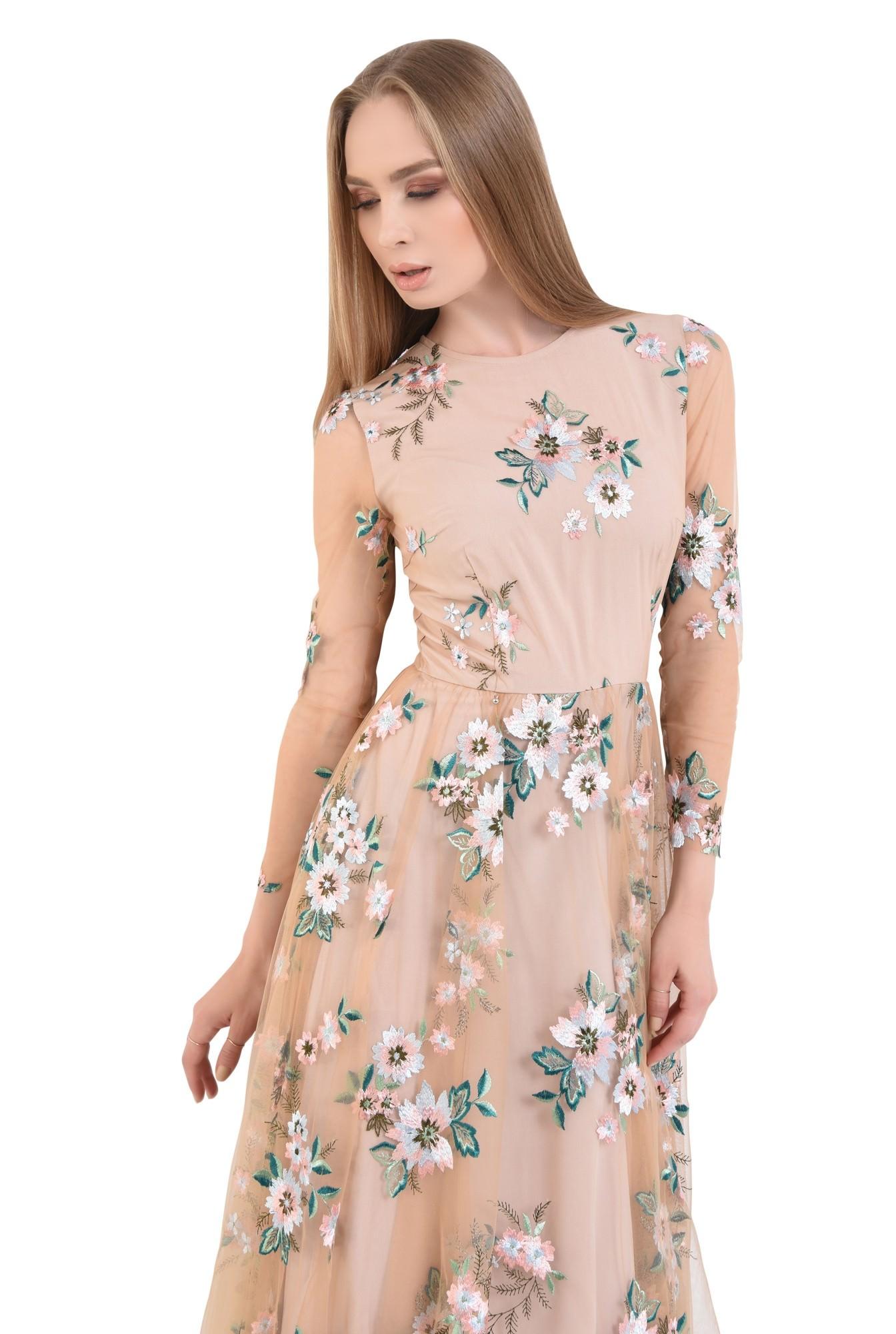 Rochie eleganta maneci lungi