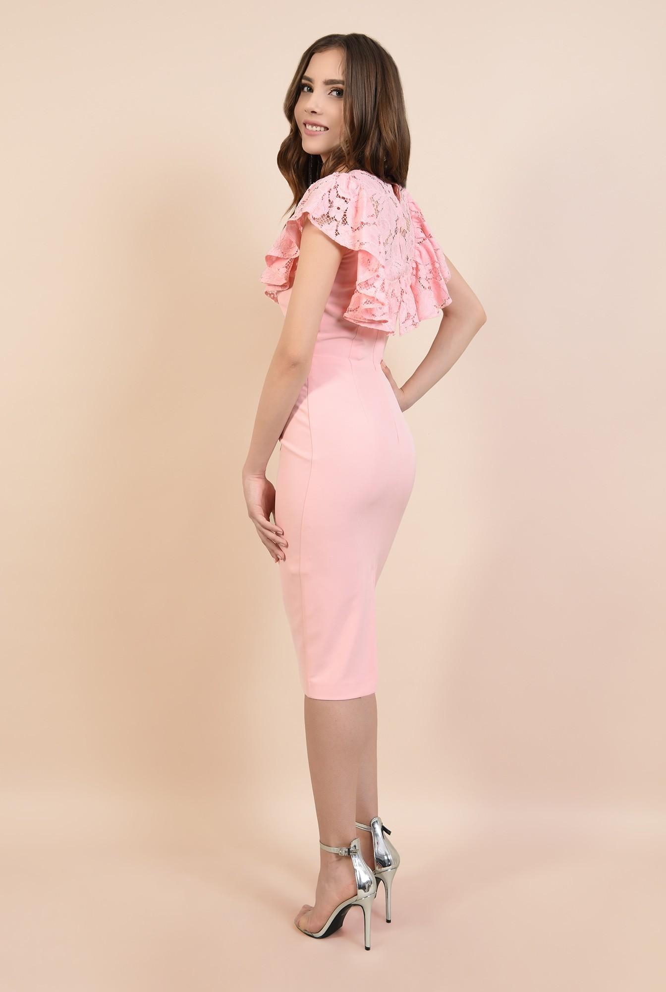 rochii elegante, rochii online, Poema, dantela din bumbac