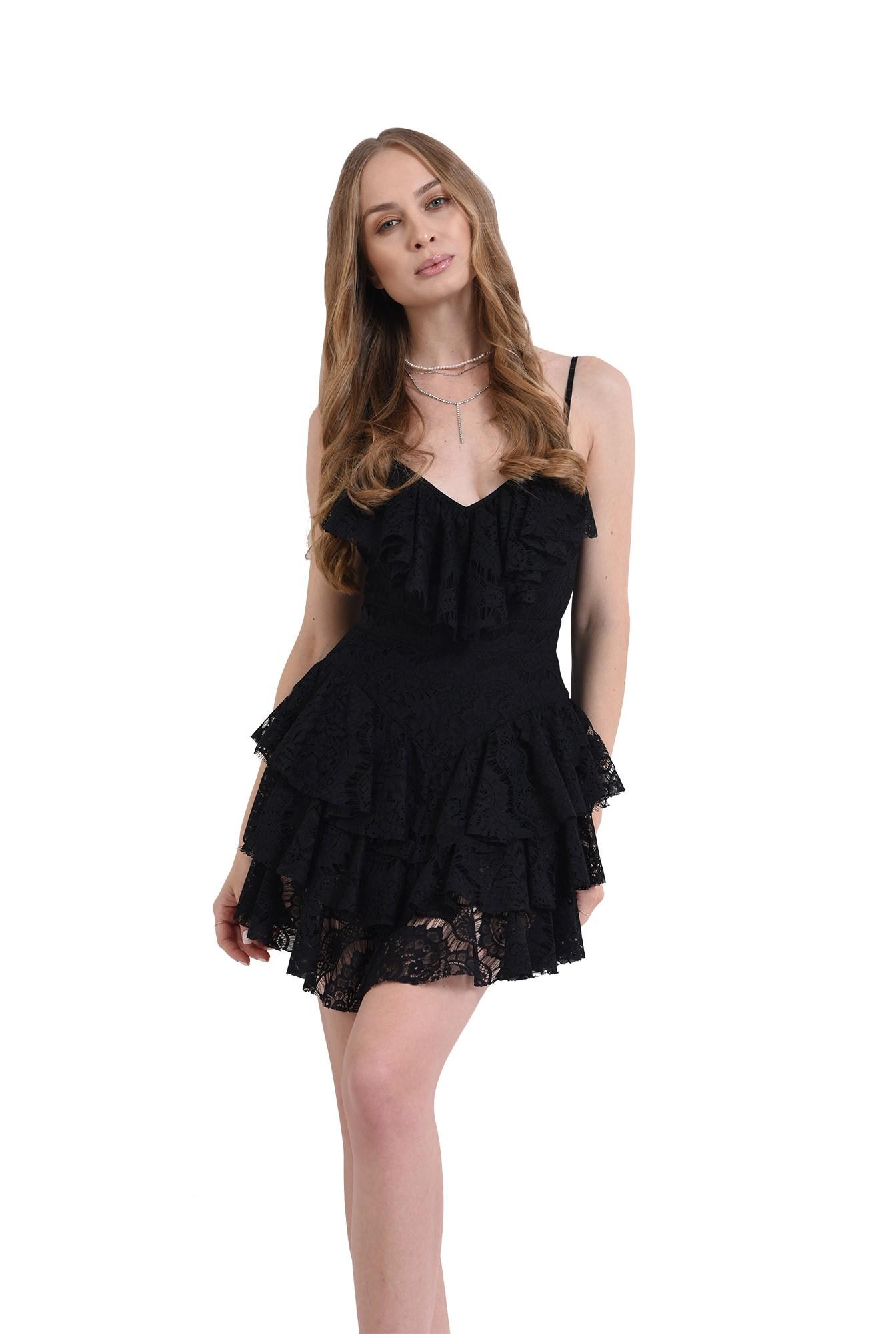 rochie eleganta, cu decolteu adanc, Poema
