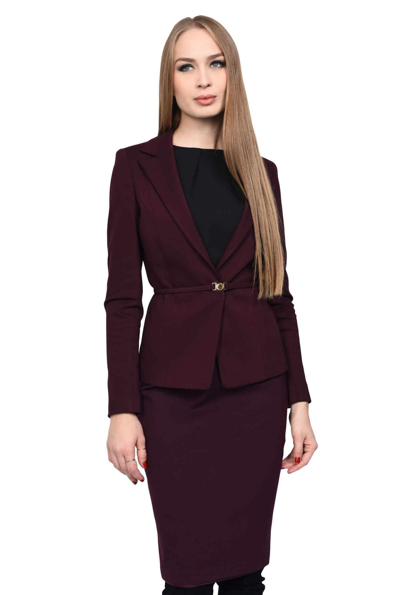 SACOU OFFICE S 109-BURGUNDY
