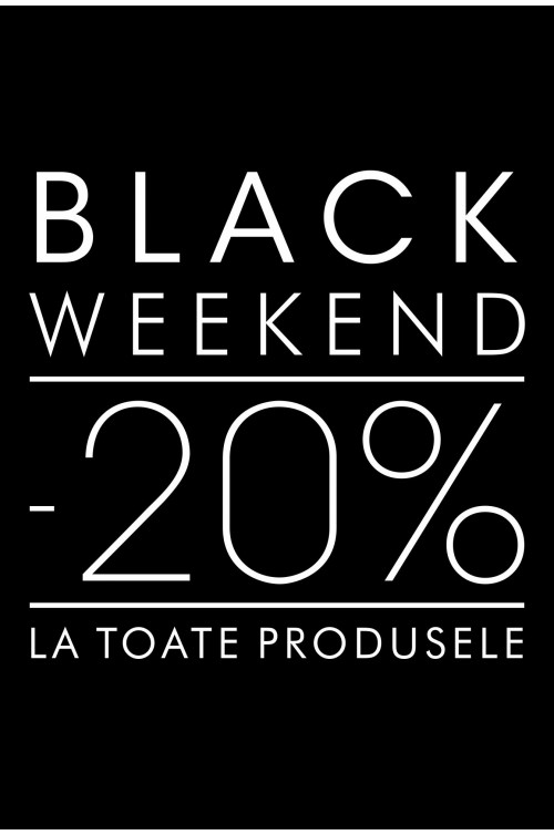 Black Weekend POEMA: -20% la toate articolele