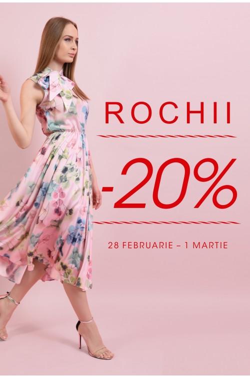 -20% la toata colectia de rochii