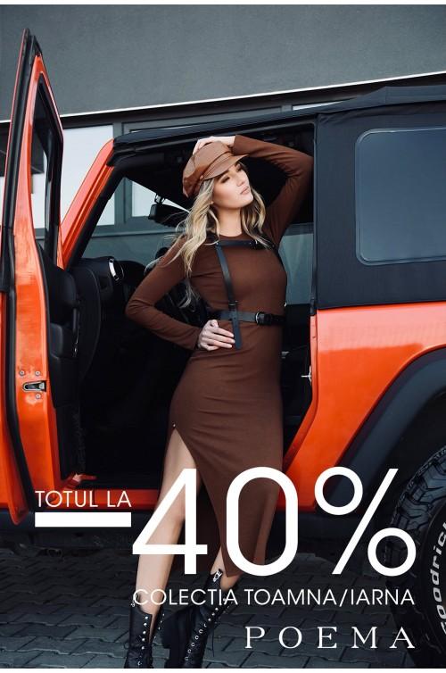 PROMOTII -40% la sute de articole!