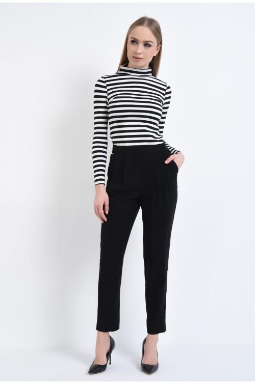 360 - Pantaloni eleganti, cu pense