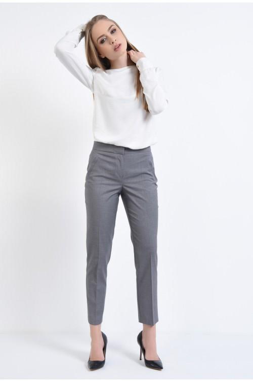 360 - Pantaloni conici, buzunare, lungi