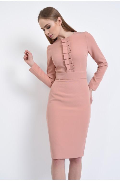 360 - Rochie conica, roz