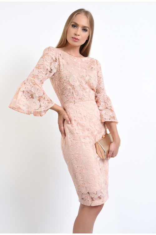 rochie eleganta, midi, conica, rochii online