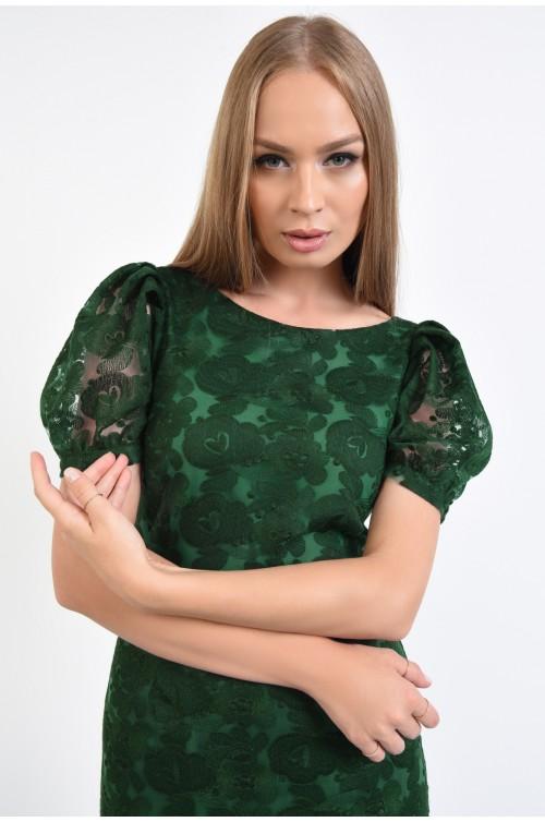 rochie eleganta, conica, maneci bufante, rochii online