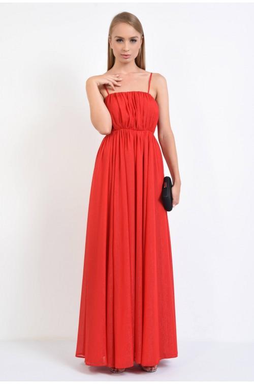 rochie de seara, maxi, sidef, talie pe elastic