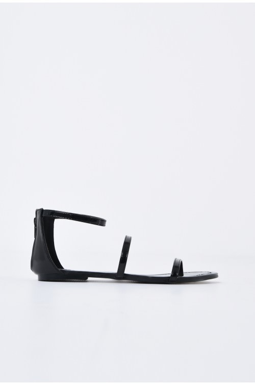 sandale casual, cu talpa joasa, barete subtiri
