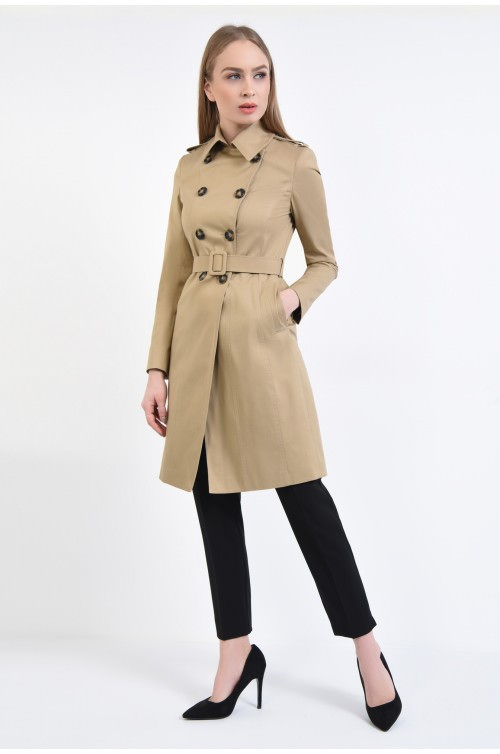 360 Trench casual, bumbac