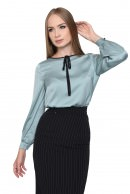 1 - BLUZA OFFICE BL 275-BLEU