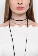 1 - COLIER TIP CHOCKER GB15021735-NEGRU