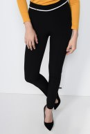 3 - PANTALON OFFICE CONIC PT 114-NEGRU