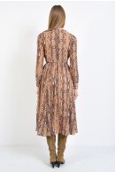 2 - ROCHIE CASUAL DIN VOAL ANIMAL PRINT