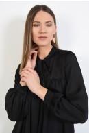 3 - ROCHIE NEAGRA SCURTA CU FUNDA LA GAT
