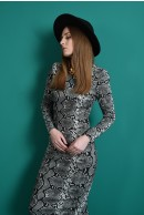 2 - ROCHIE CONICA SNAKE PRINT