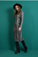 1 - ROCHIE CONICA SNAKE PRINT