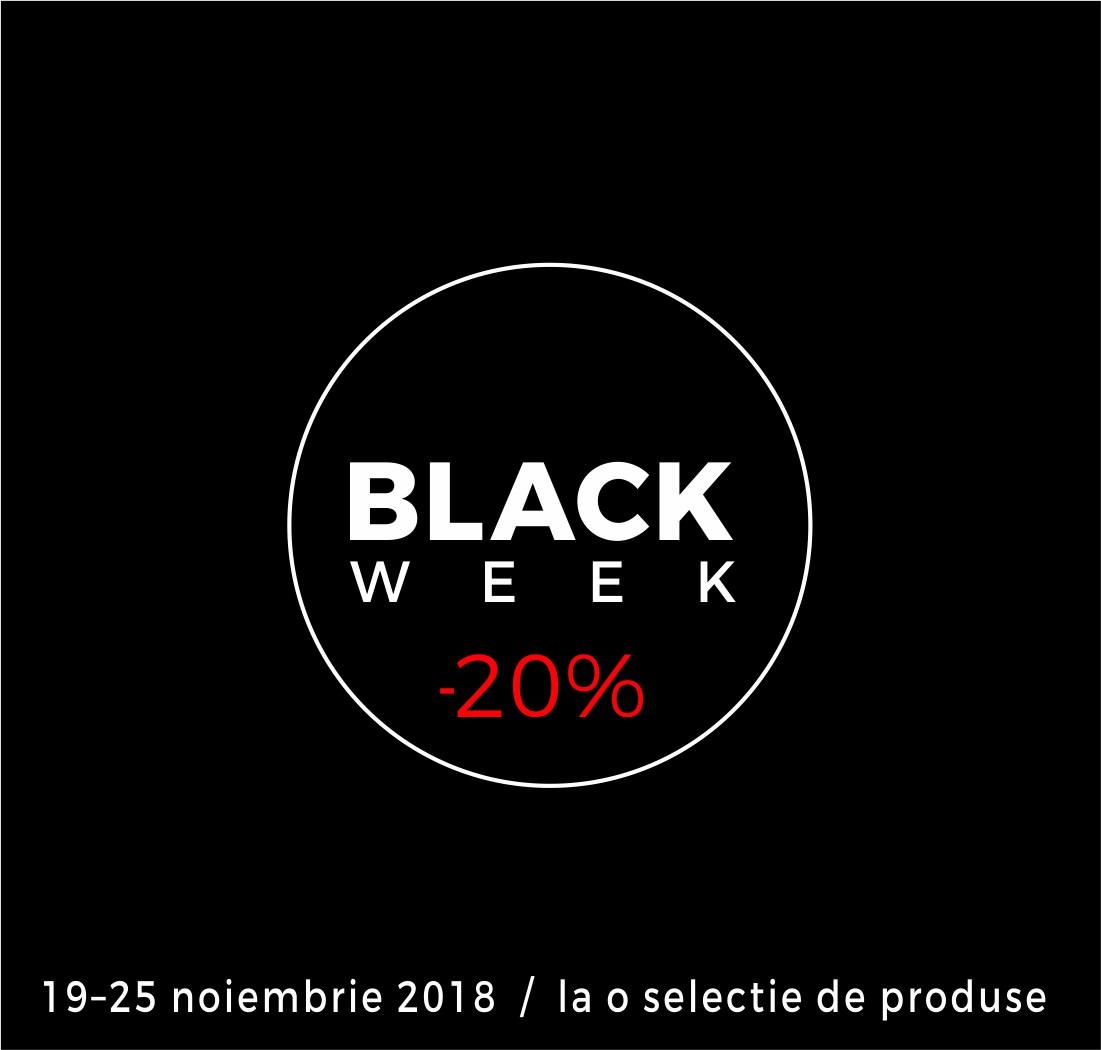 Black Week POEMA, zeci de produse acum cu 20% reducere