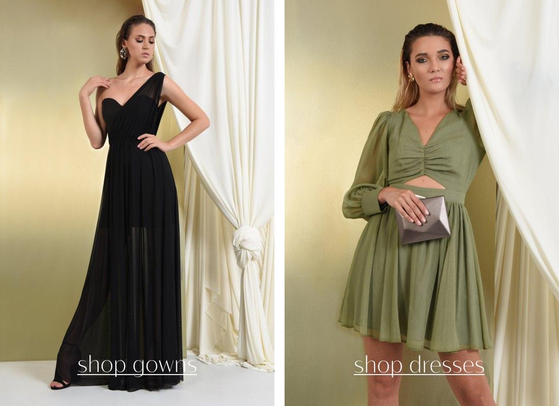 Rochii elegante POEMA: rochii de seara lungi si scurte