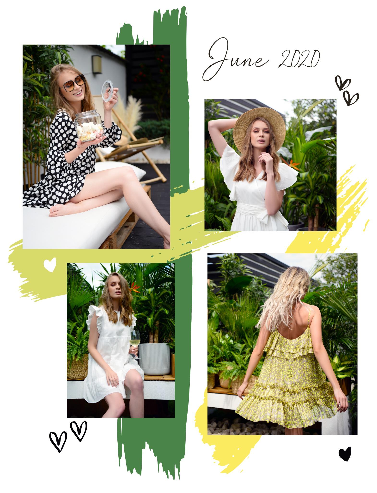 Colectia de vara POEMA: bluze si rochii lejere din materiale vaporoase cu culori si texturi bogate