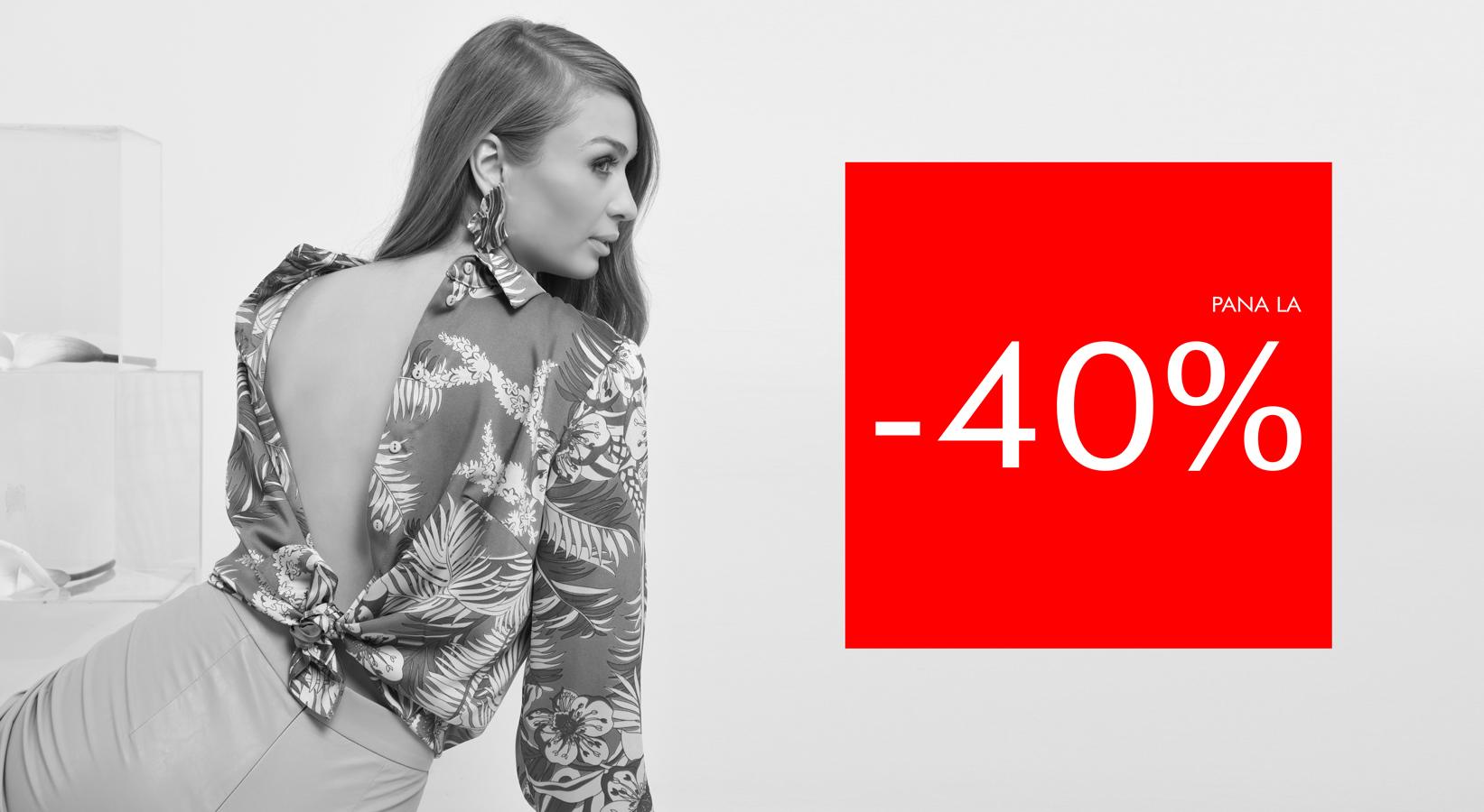 Promotii POEMA: pana la -40% la sute de articole.